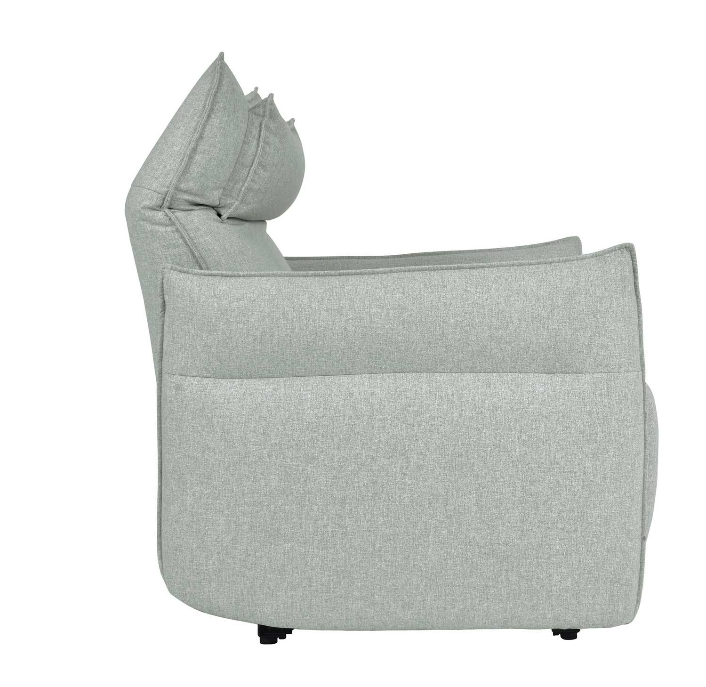 Homelegance Linette Power Reclining Chair with Power Headrest - Ocean