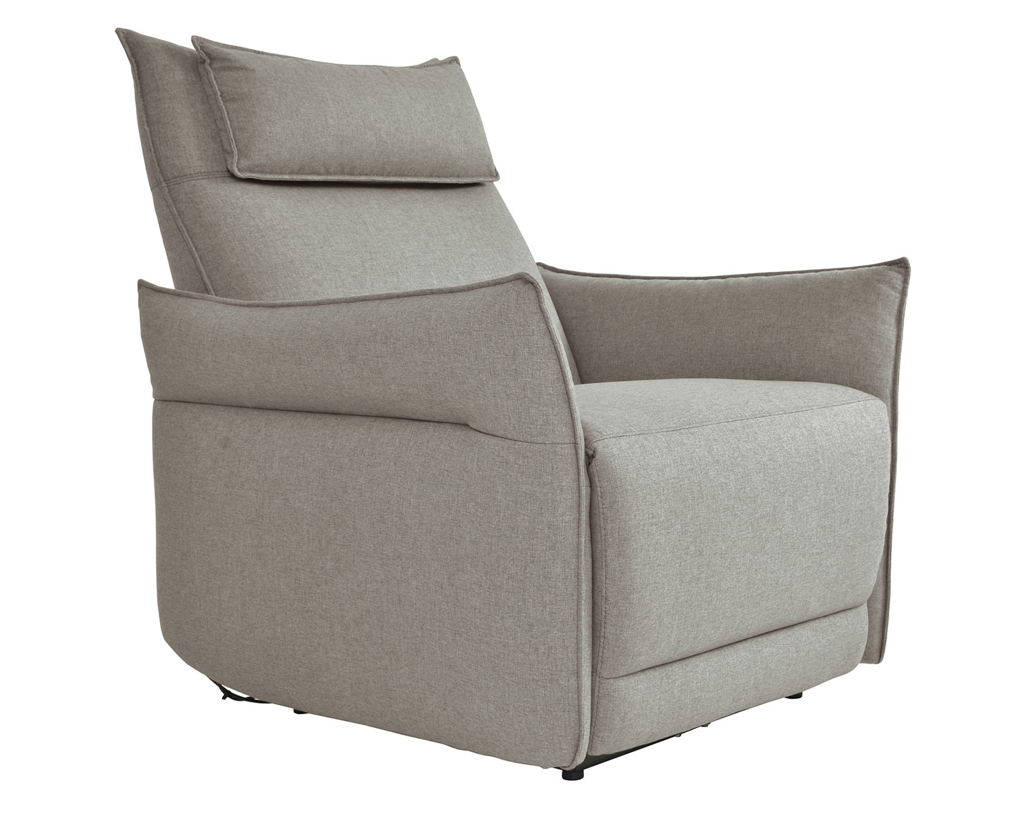 Homelegance Linette Power Reclining Chair with Power Headrest - Taupe