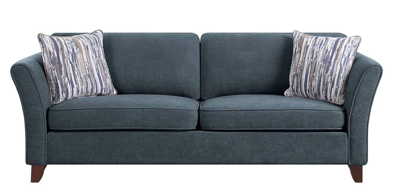 Homelegance Barberton Sofa - Dark gray