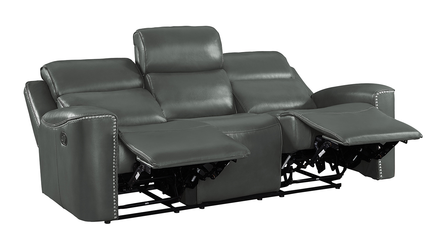 Homelegance Altair Double Reclining Sofa - Gray
