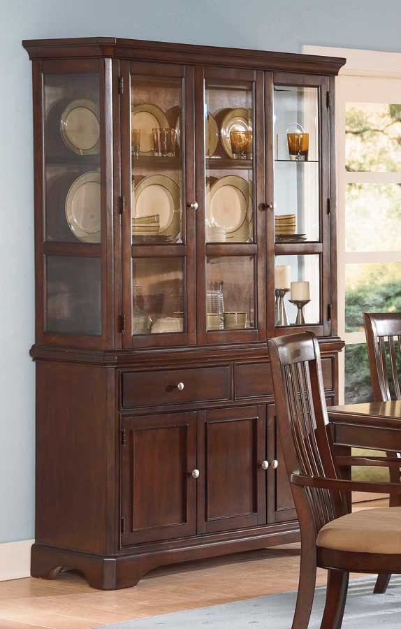 Homelegance Laurel Height China Cabinet Cherry 982c 50 At