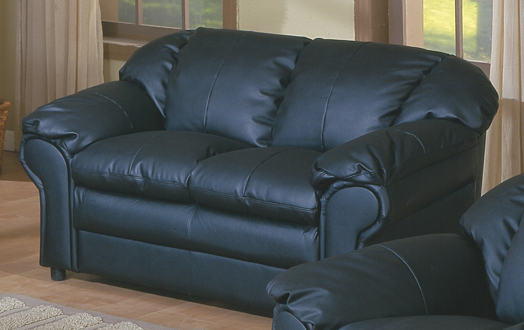 Homelegance ONeill Love Seat Black