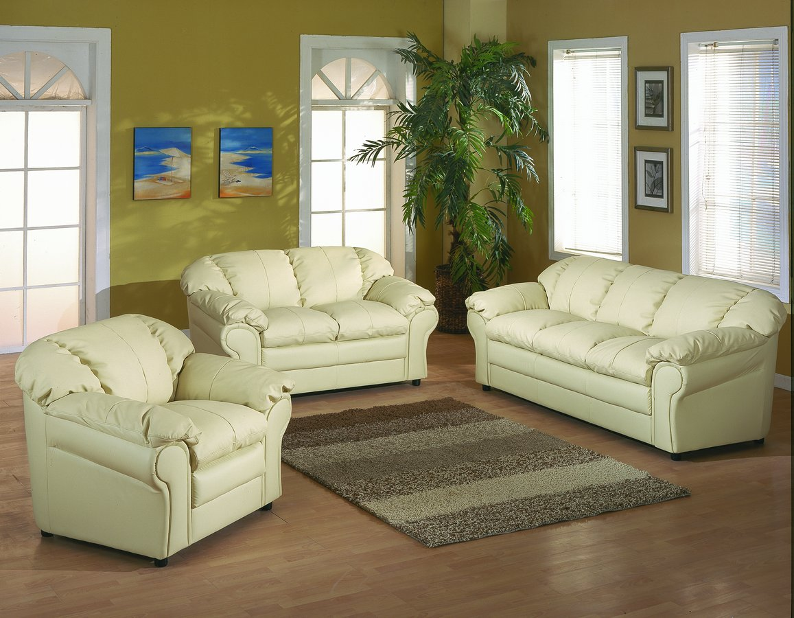 Homelegance ONeill Sofa Collection Ivory