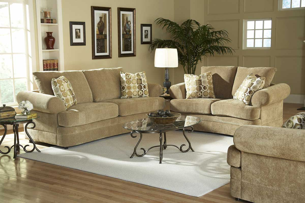chenille living room furniture tan oversized chenille sofa couch newbury chenille living room set