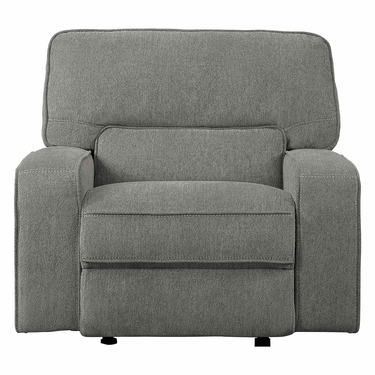 Homelegance Borneo Power Reclining Chair with Power Headrest - Mocha