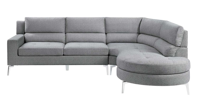 Homelegance Bonita Sectional Sofa Set - Gray