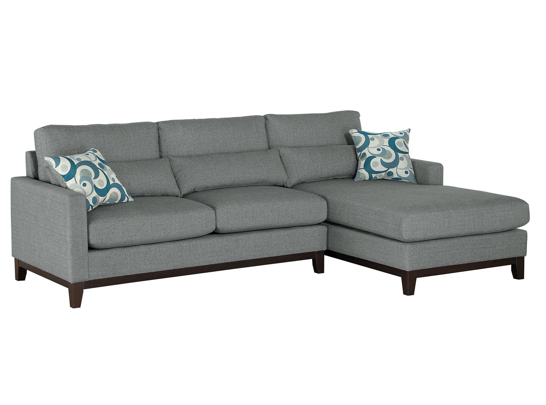 Homelegance Greerman Sectional Sofa Set - Gray