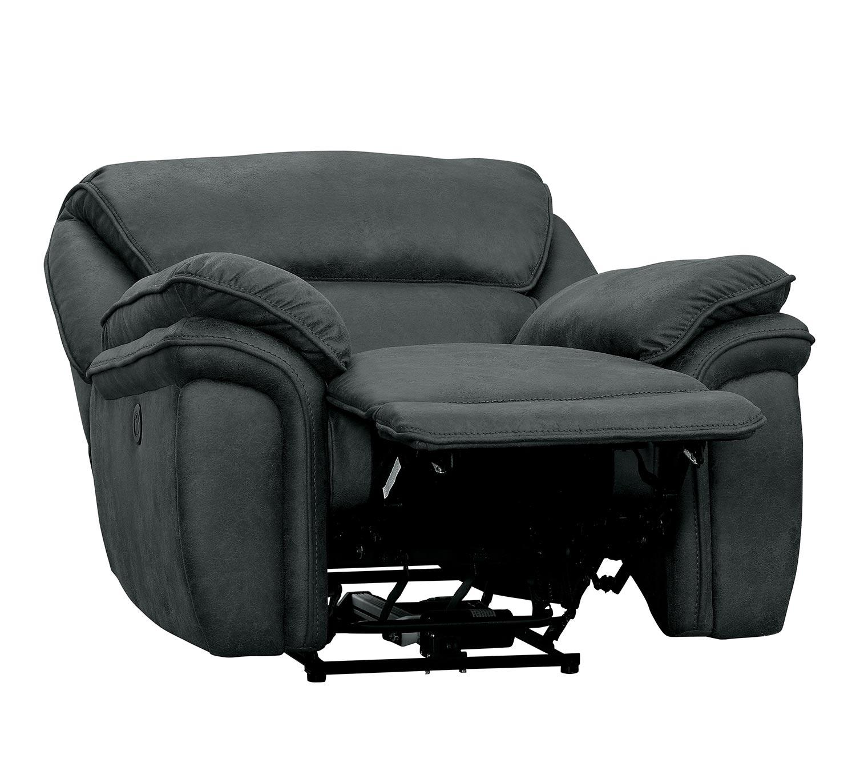 Homelegance Hadden Power Reclining Chair - Gray