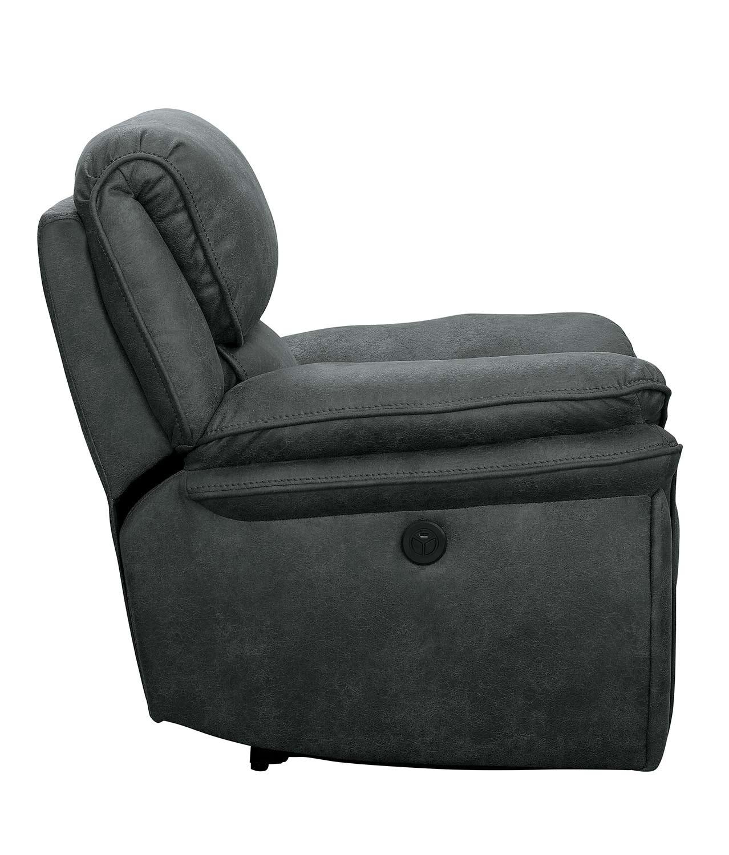 Homelegance Hadden Glider Reclining Chair - Gray