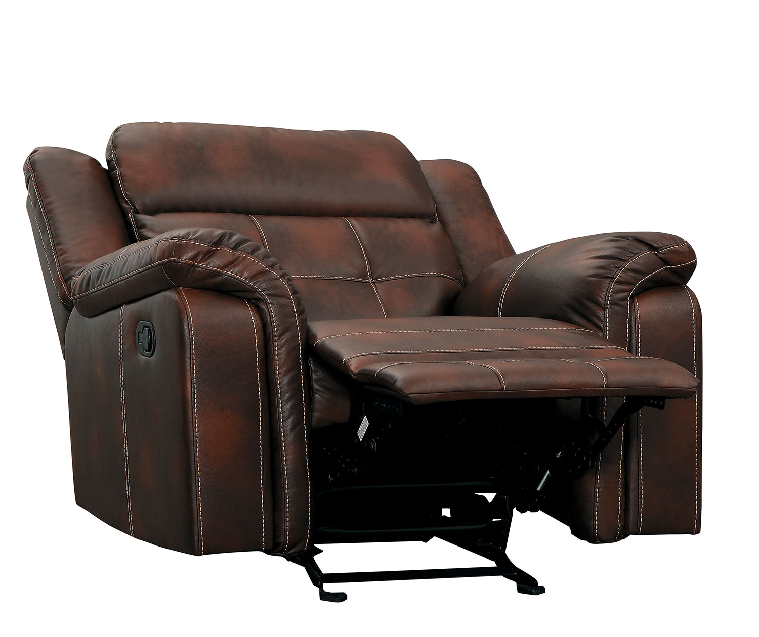 Homelegance Keridge Glider Reclining Chair - Brown