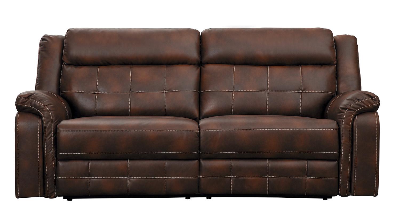 Homelegance Keridge Double Reclining Sofa - Brown