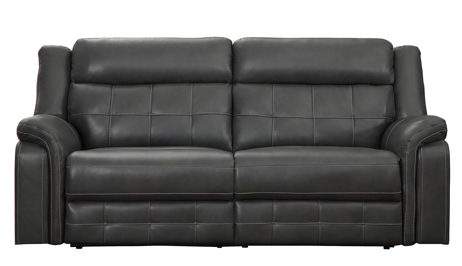 Homelegance Keridge Double Reclining Sofa - Gray AireHyde