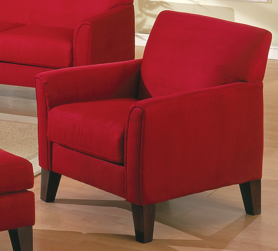 Homelegance Petite Chair Red 9913RD 1