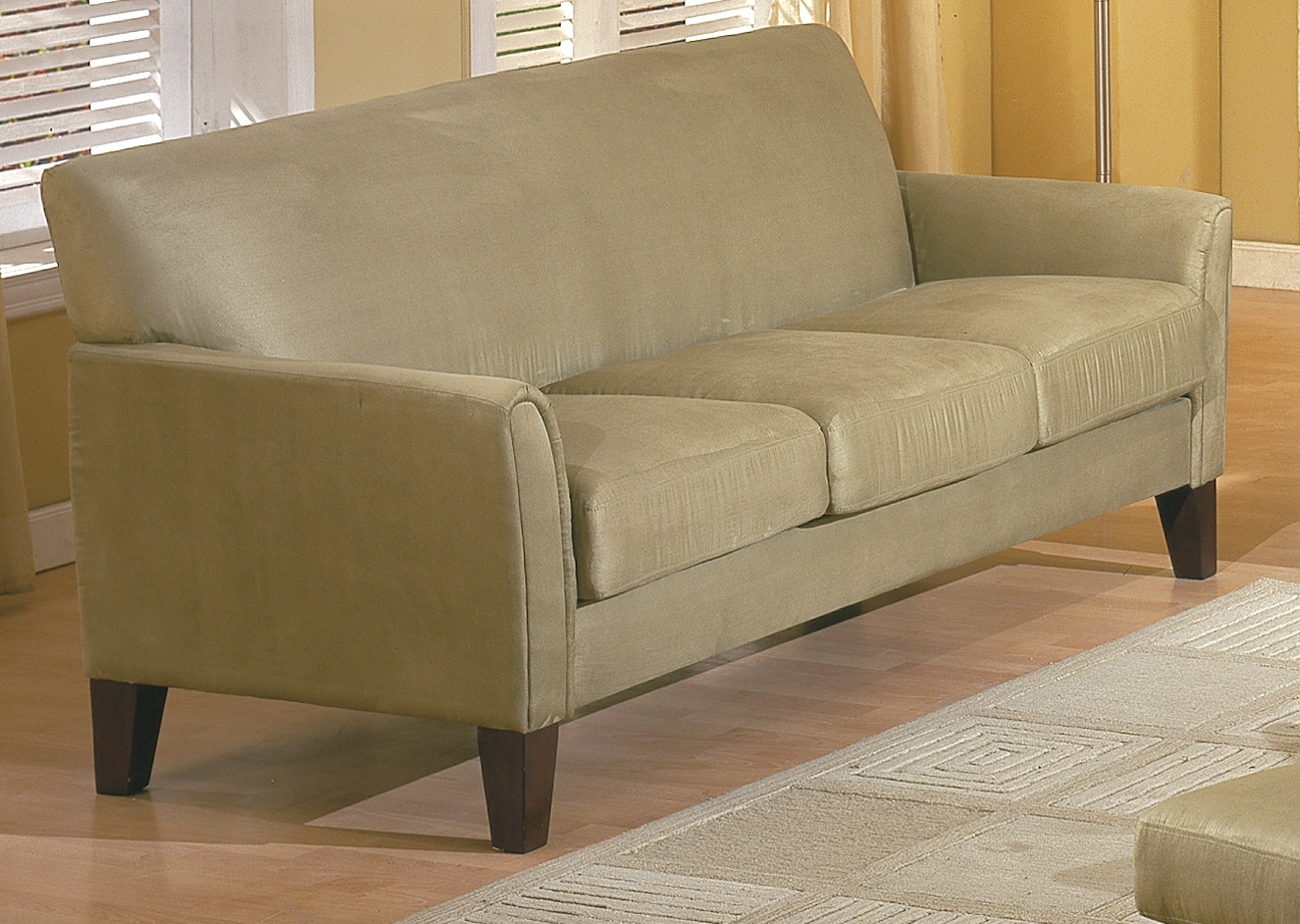 Homelegance Petite Sofa Sage 9913sg 3 At