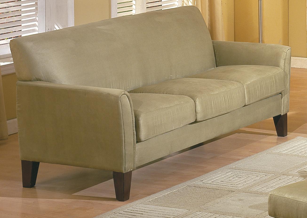 Homelegance Petite Sofa Sage Buy Living Room Furniture