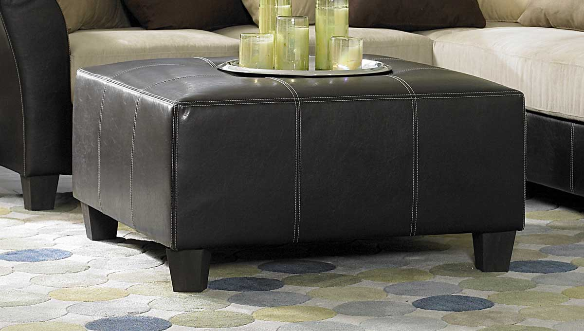 Carrington Cocktail Ottoman - Homelegance