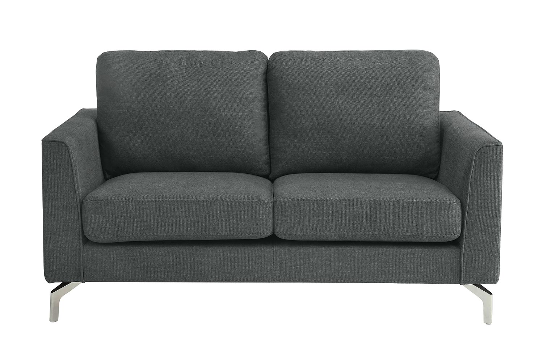Homelegance Canaan Love Seat - Gray