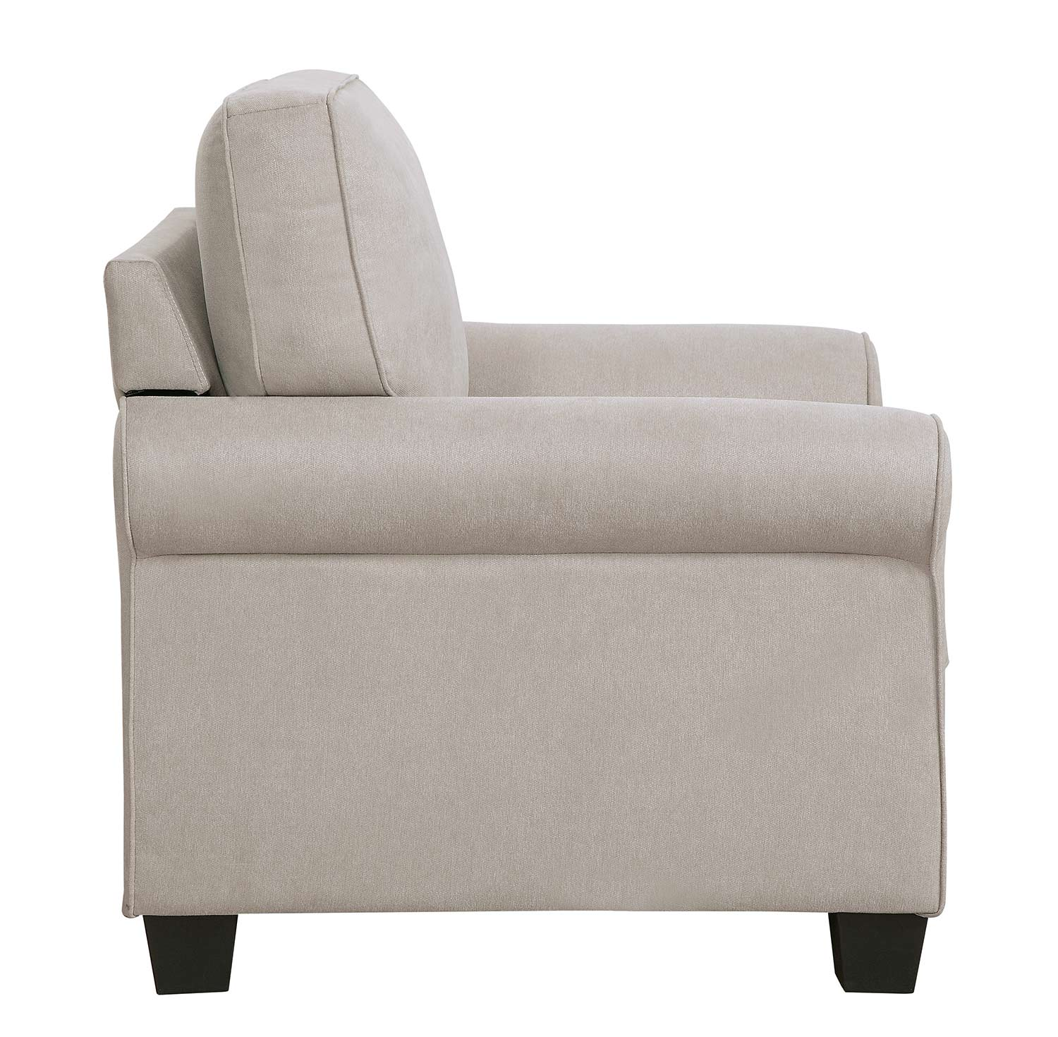 Homelegance Selkirk Chair - Sand Fabric