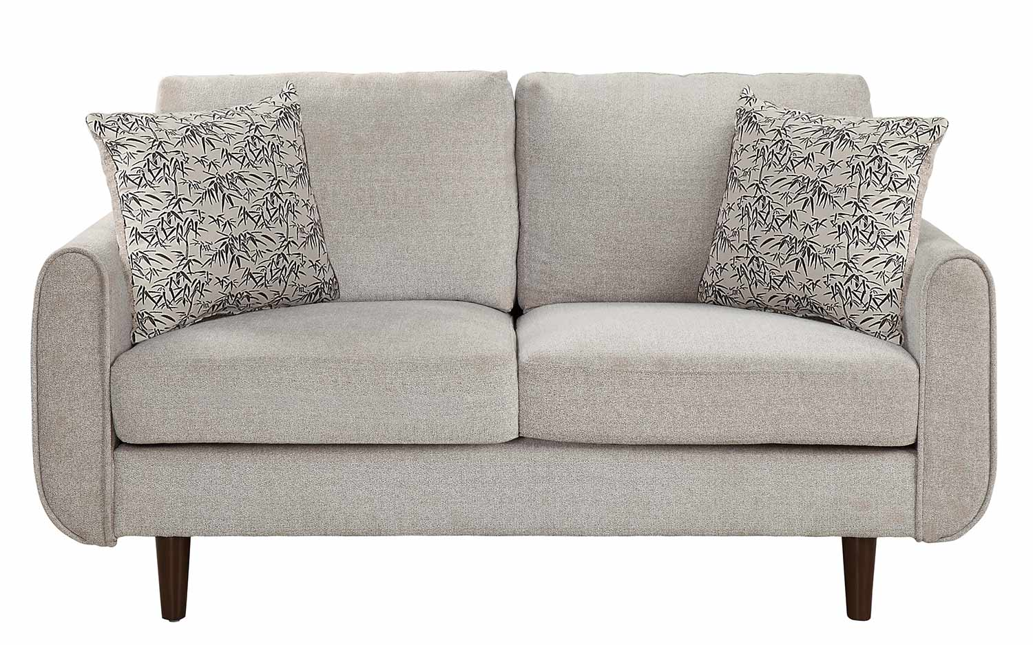 Homelegance Wrasse Love Seat - Sand Fabric