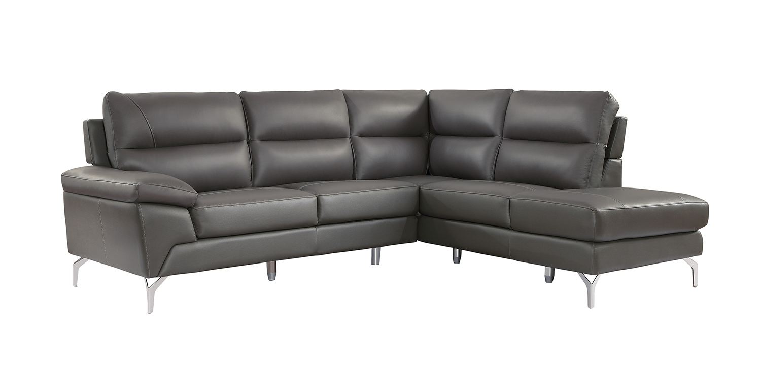 Homelegance Cairn Sectional Sofa Set - Gray