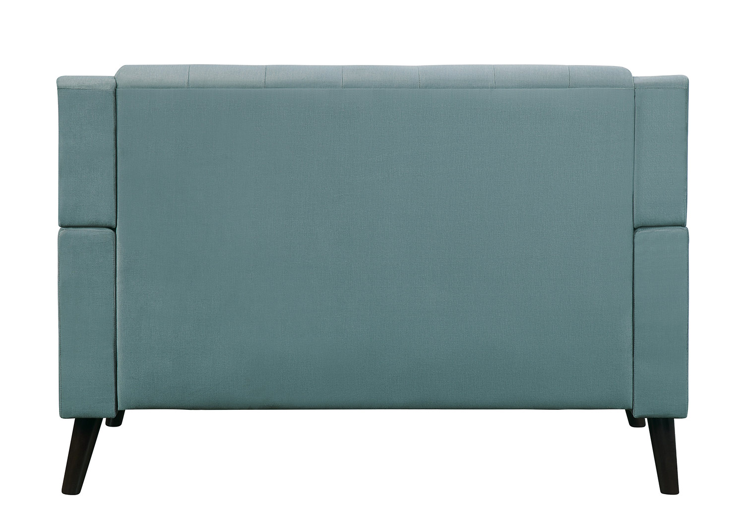 Homelegance Broadview Love Seat - Fog gray