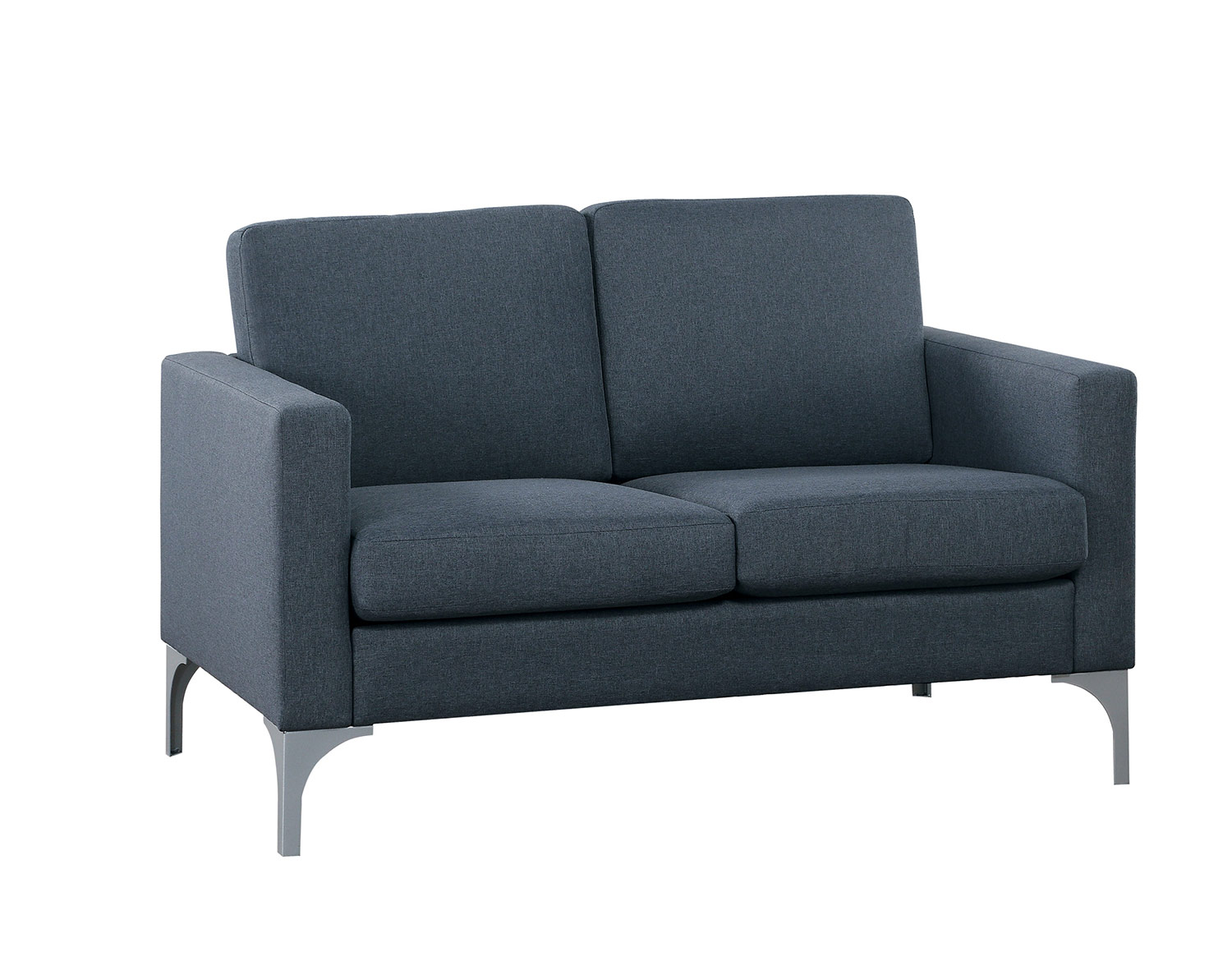 Homelegance Soho Love Seat - Dark Gray - Brownish Gray