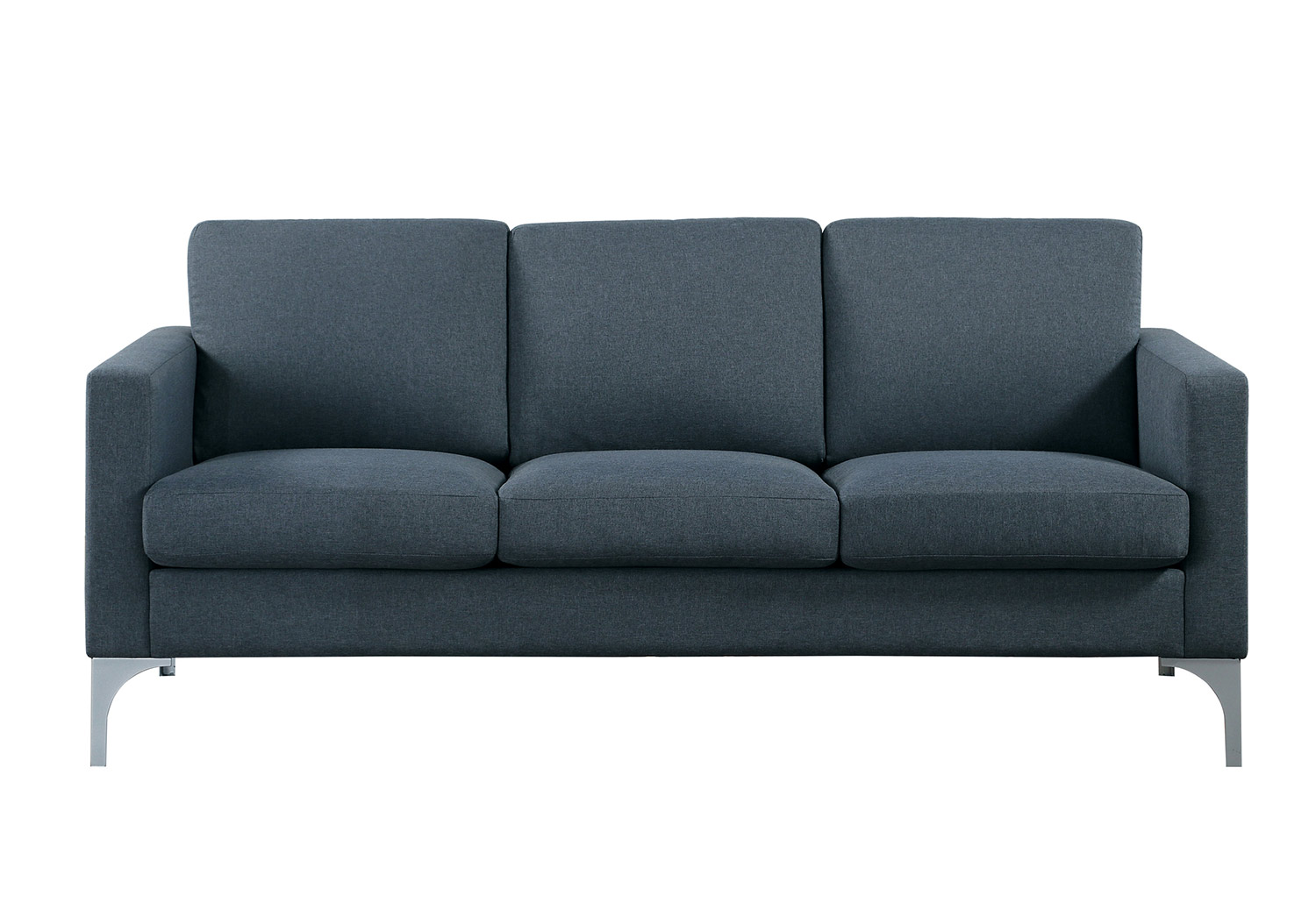 Homelegance Soho Sofa - Dark Gray - Brownish Gray