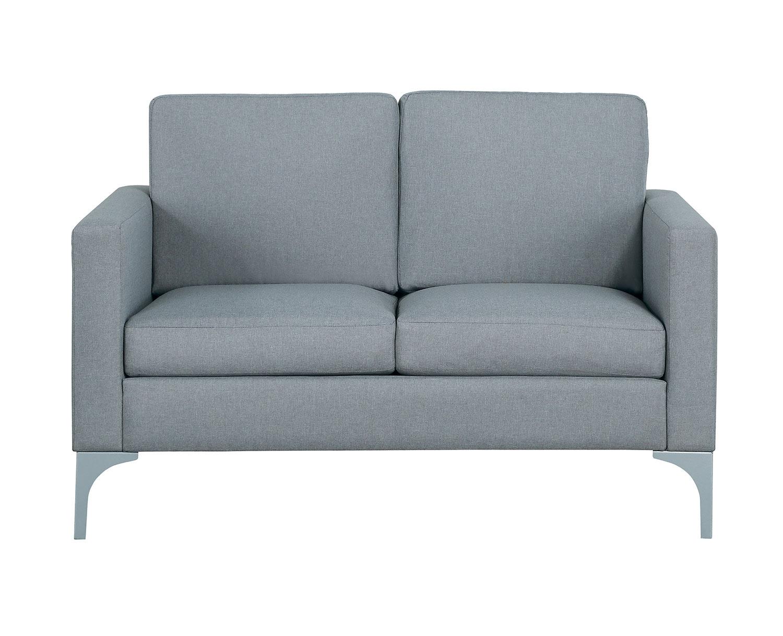 Homelegance Soho Love Seat - Light Gray