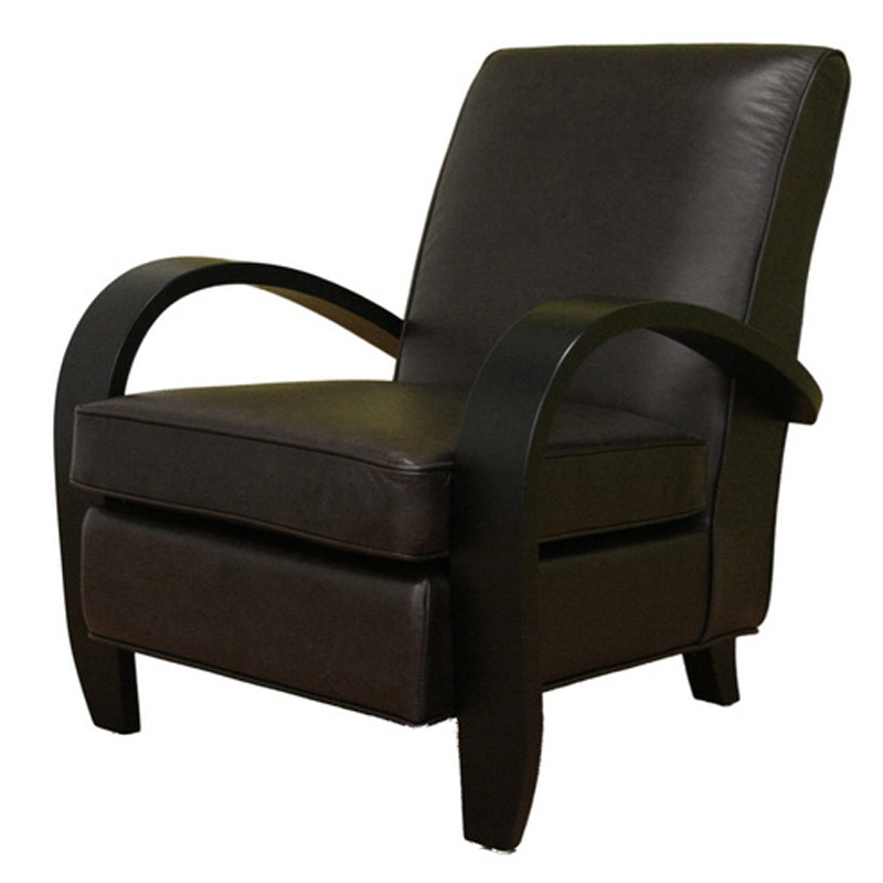 Wholesale Interiors A-576 Full Leather Club Chair