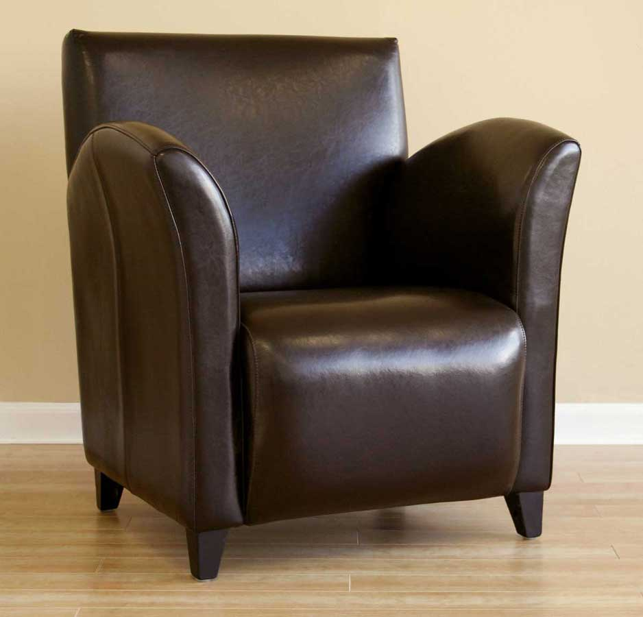 A-81 Full Leather Club Chair - Wholesale Interiors