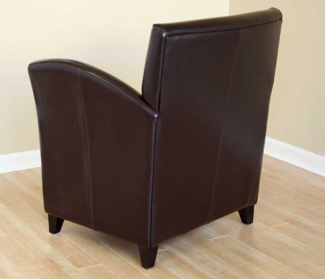 Wholesale Interiors A-81 Full Leather Club Chair