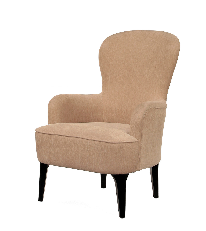 Abbyson Living Colton Beige Fabric Armchair