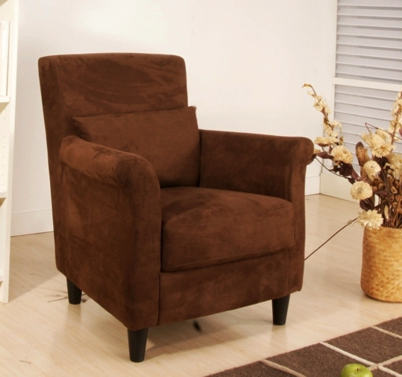 Abbyson Living WoodCreek Dark Brown Arm Chair