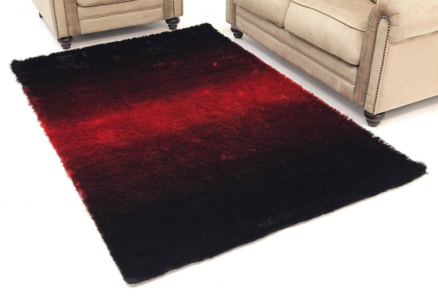 Abbyson Living Bliss Shag Rug 2 x 3-Feet