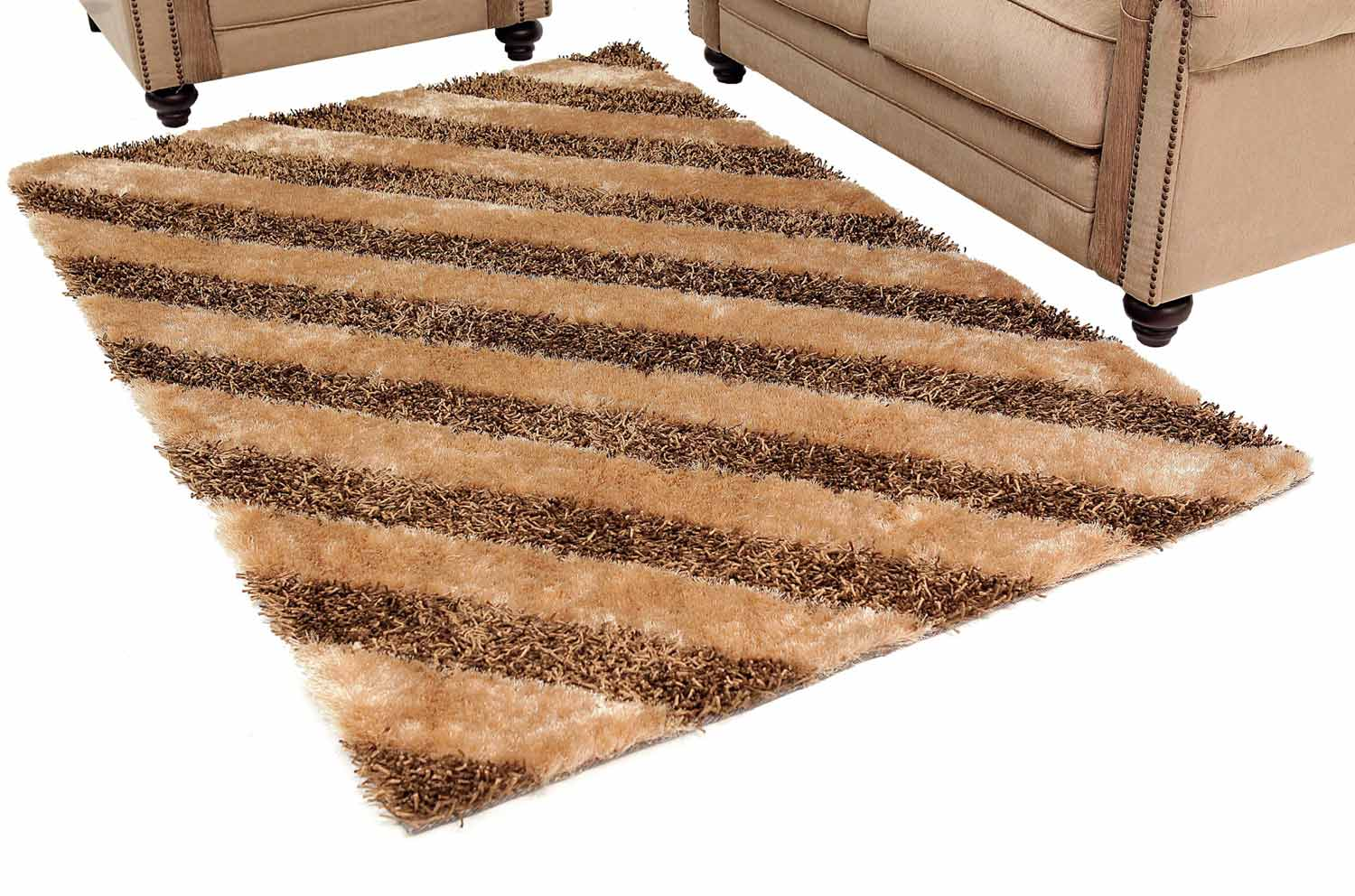 Abbyson Living Destiny Striped Rug 4 x 6-Feet