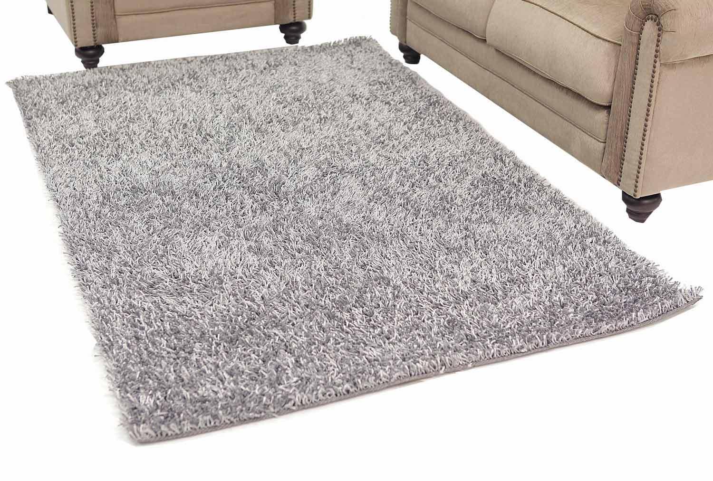 Abbyson Living AR-YS-TS014 Shag Rug 6 x 9-Feet - Grey