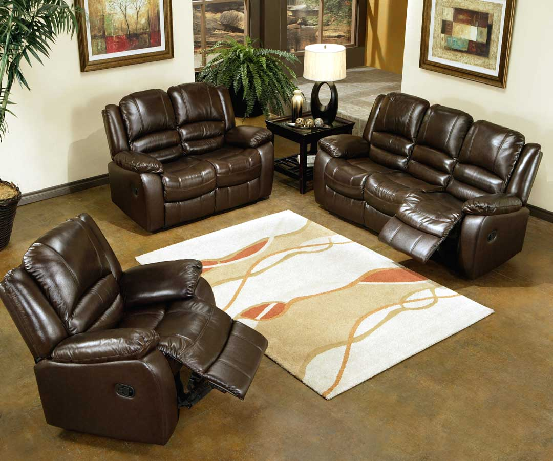 Cheap Abbyson Living Tuscany Reclining Leather Sofa Collection