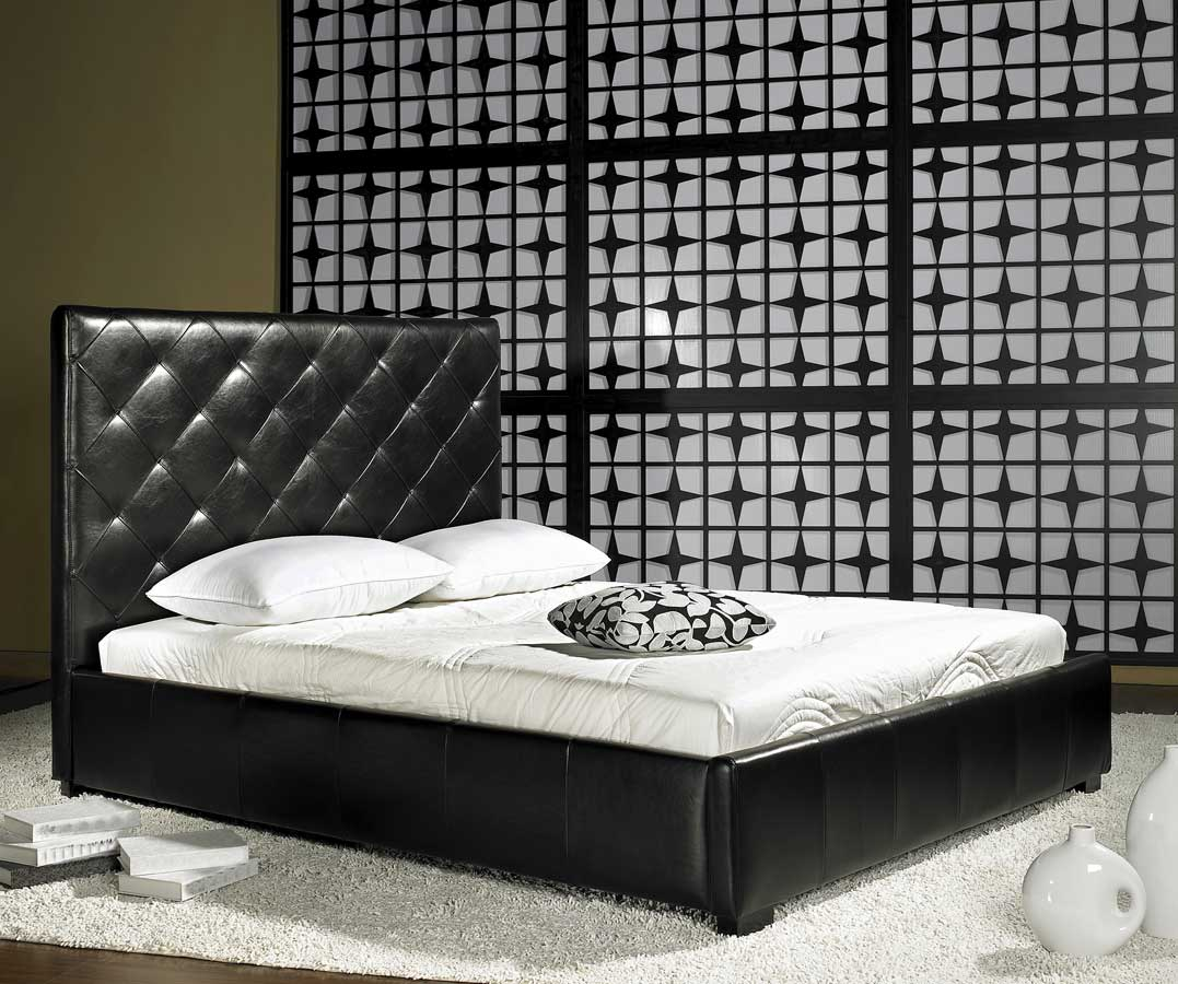 Abbyson Living Destiny Leather Bed