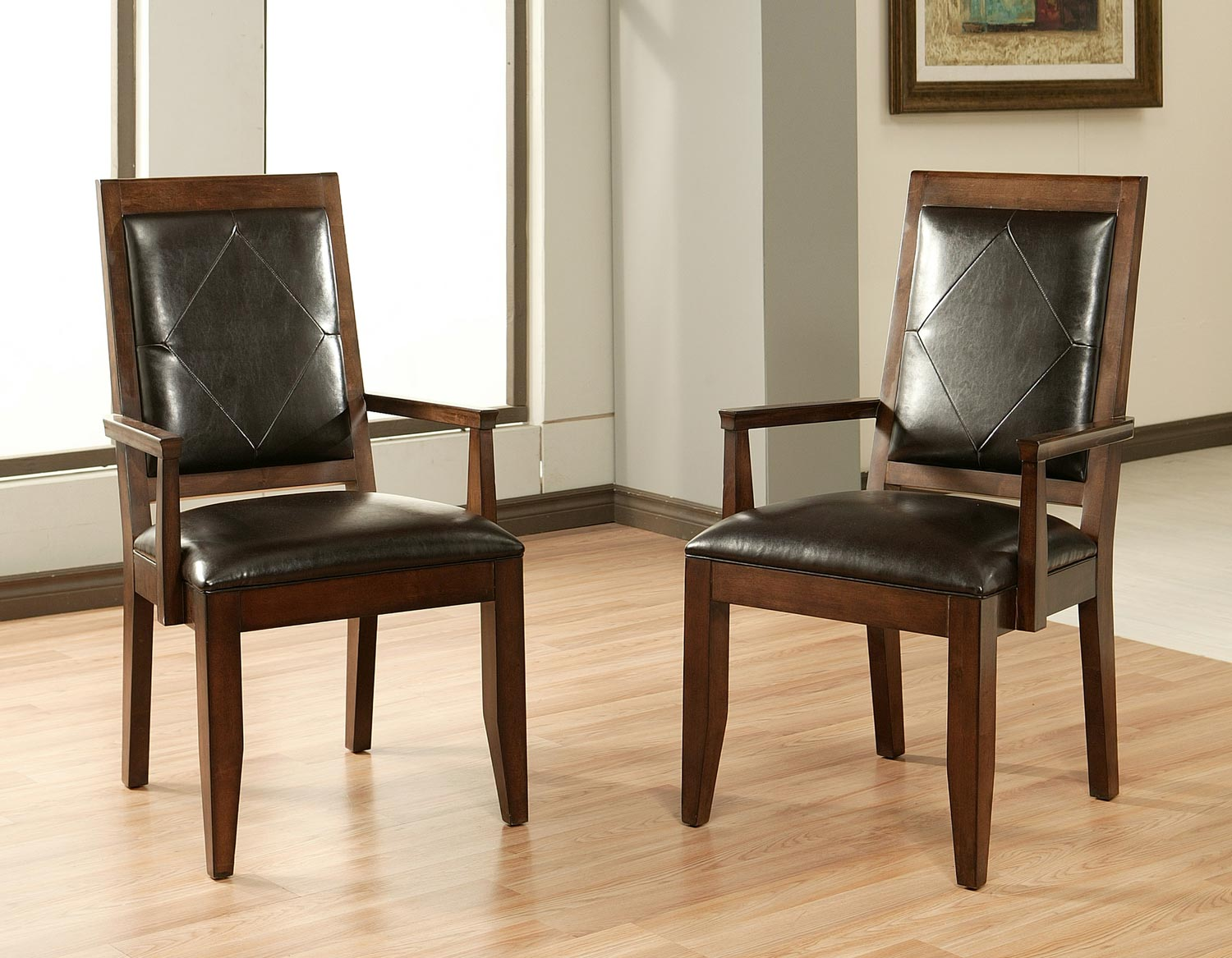 Abbyson Living Jericho Leather Arm Chair