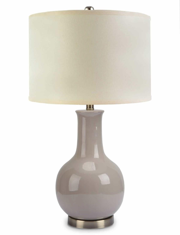 Abbyson Living Maybury Ceramic Table Lamp - Greay