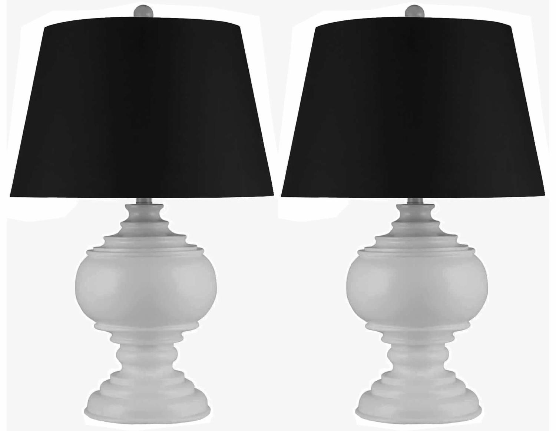 Abbyson Living Alexis 2 PC Table Lamp Set - Black