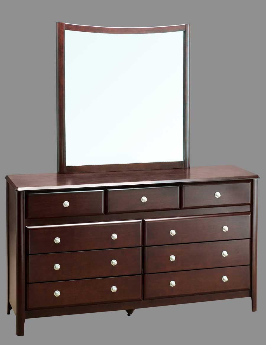 Abbyson Living Destiny Dresser with Mirror
