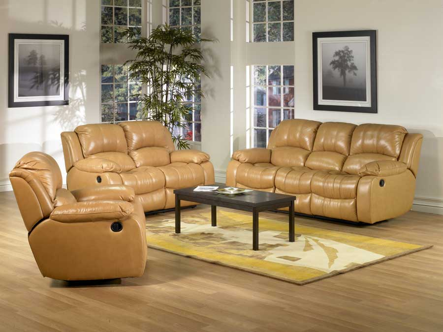 Abbyson Living Tuscany Leather Sofa Collection