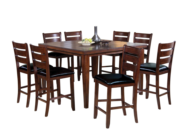 Acme Urbana Counter Height Dining Set - Cherry