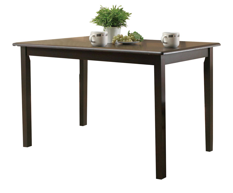 Acme Serra II Dining Table - Cappuccino