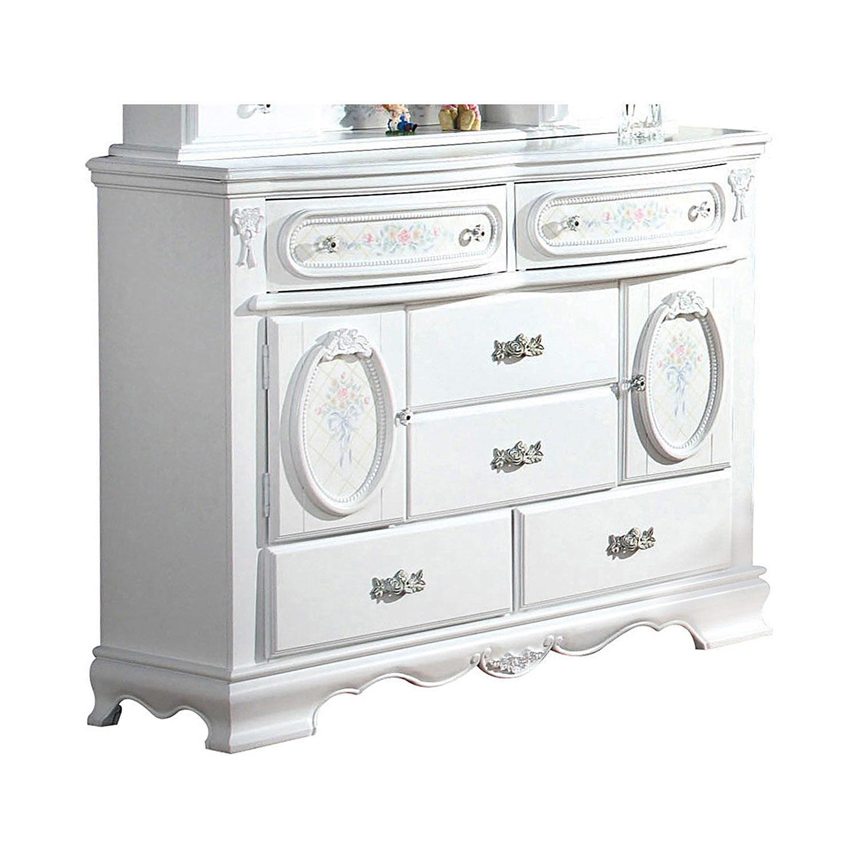 Acme Flora Door Dresser - White
