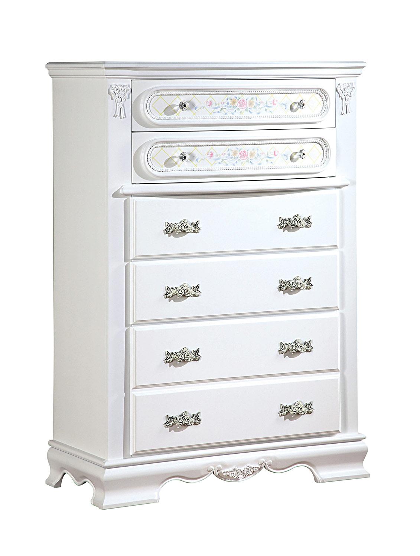 Acme Flora Chest - White
