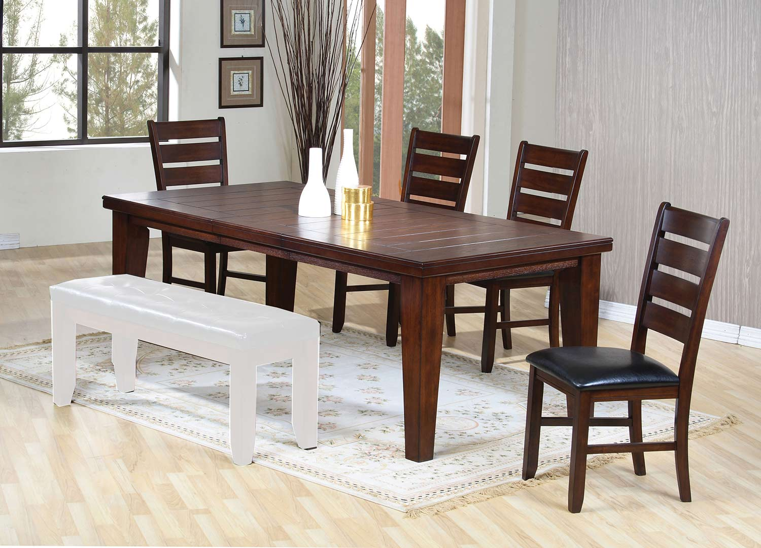 Acme Urbana Dining Set - Cherry