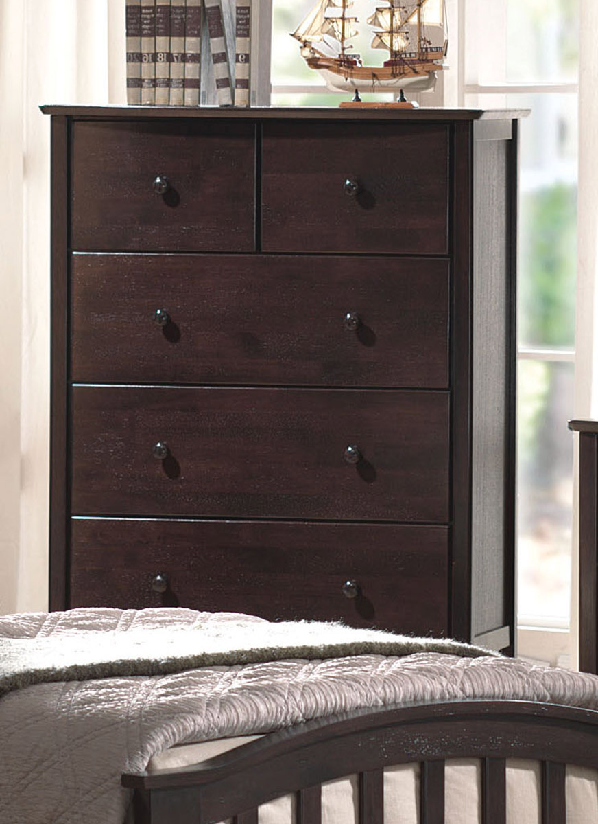 Acme San Marino Dresser - Dark Walnut