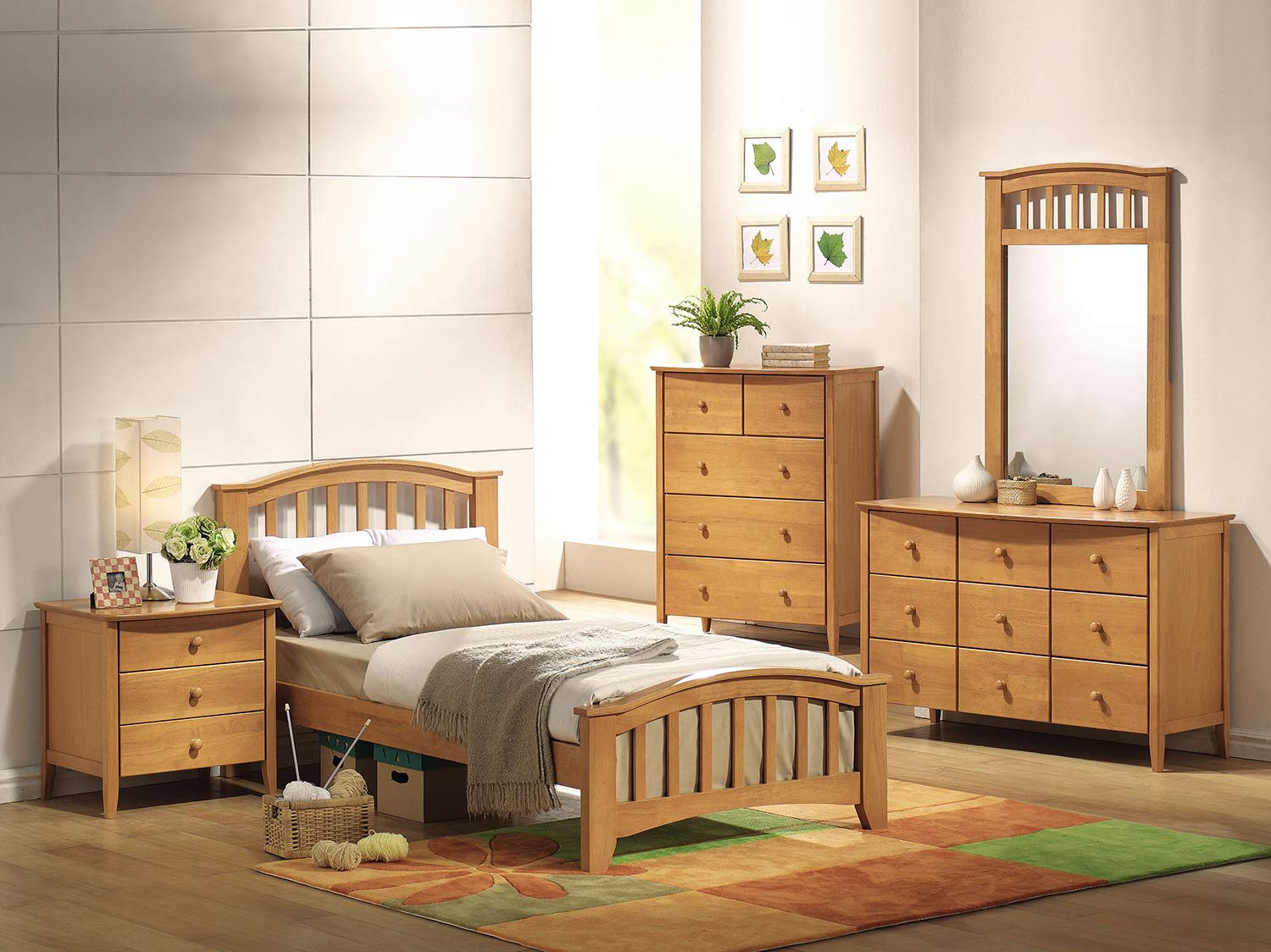 Acme San Marino Bedroom Set - Maple
